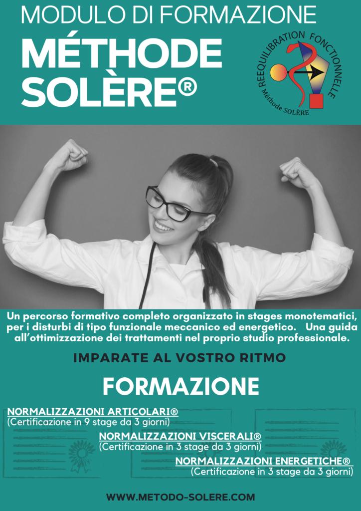 presentazione della formazione metodo SOLÈRE in Italia