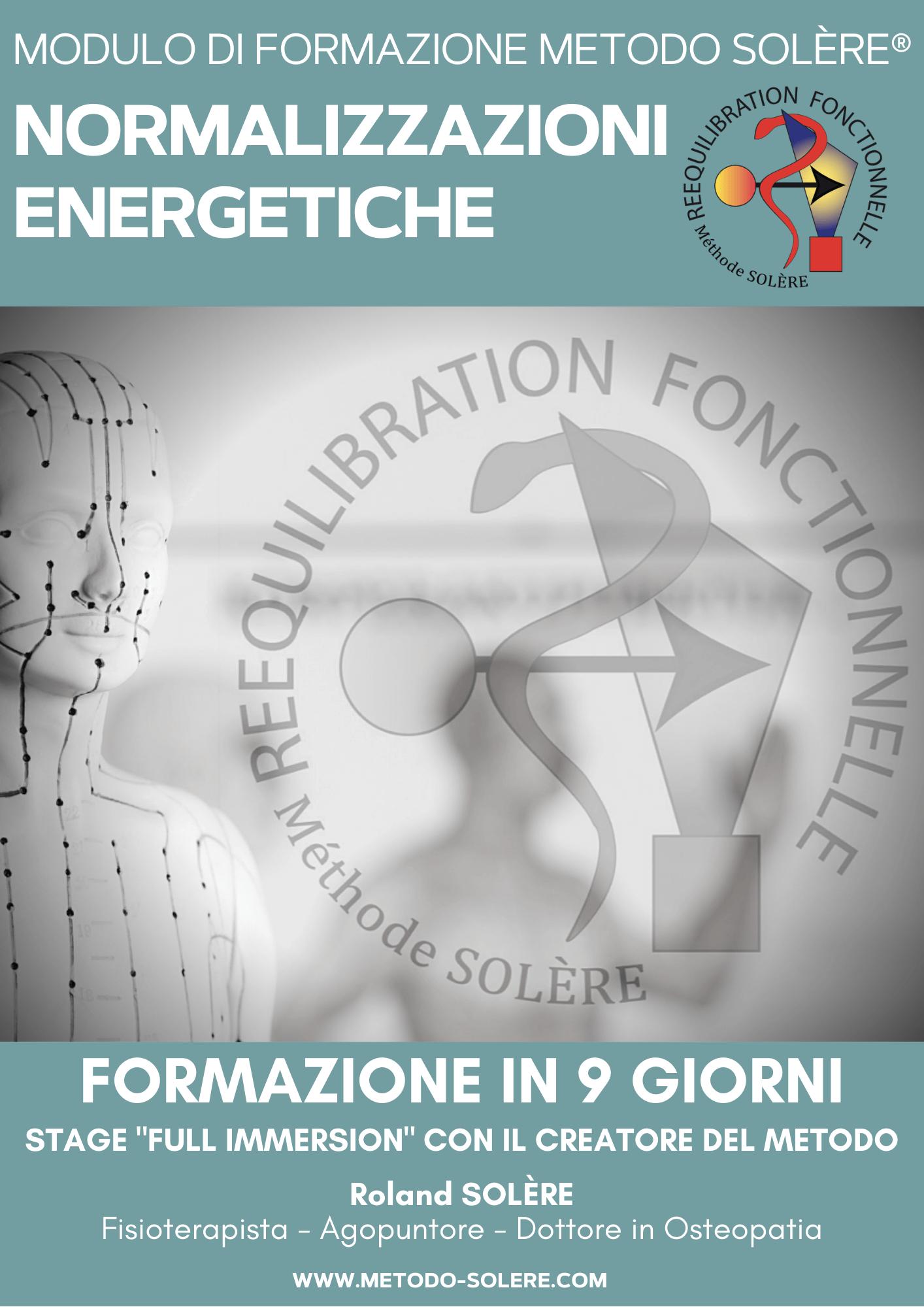 Normalizzazioni Energetiche® (72 modelli terapeutici)